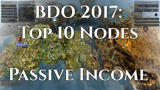 (UPDATED) BDO 2017: Top 10 Worker Nodes for Passive Income [Black Desert Online]