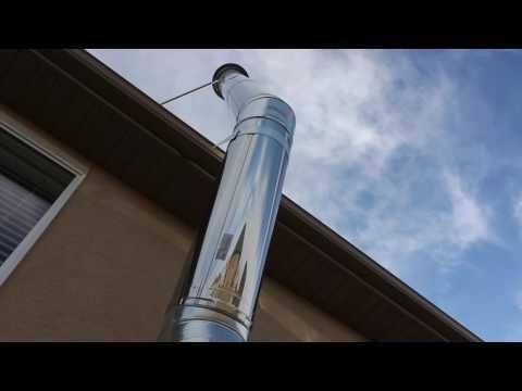 DuraPlus WoodStove Chimney Install