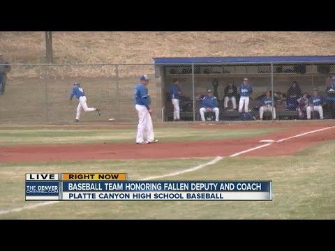 baseball team honors fallen deputy and coach
