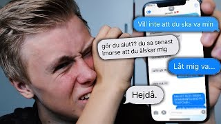 LYRICS PRANK PÅ FLICKVÄN (goes wrong)