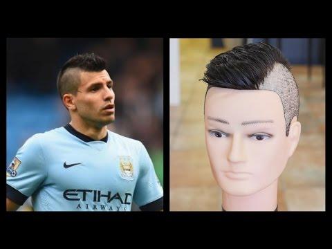 Sergio Aguero - Men's Haircut Tutorial - TheSalonGuy