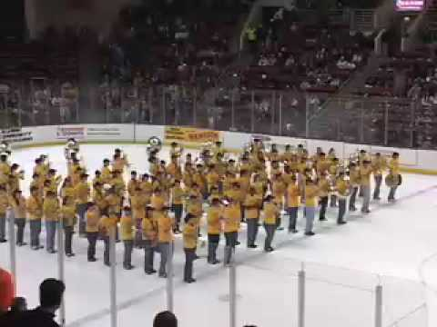 Boston College Screaming Eagles Marching Band on ICE Video