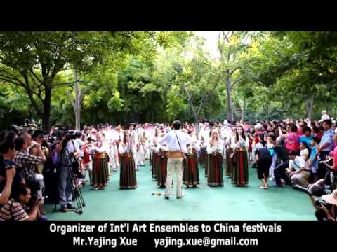 2013 Shanghai Tourism Festival - Poland Folk Brass Band 2
