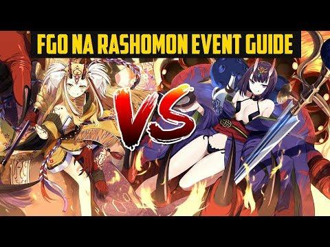 FGO NA Rashomon / Ibaraki Raid COMPLETE Guide, Tips & Farming