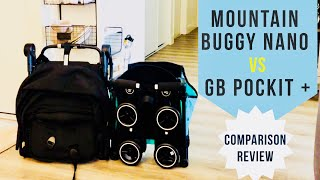 GB Pockit Plus vs Mountain Buggy Nano V2