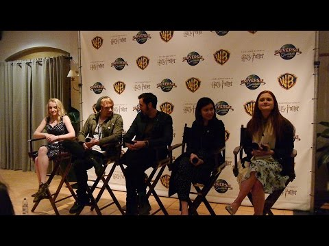 "Full ""Harry Potter"" stars Q&A Universal Orlando 2016 Celebration"