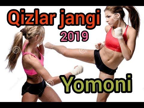 Qizlar jangi yomoni   girls' fight