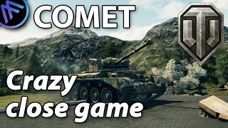 ^^| COMET Crazy close game.. (World of Tanks Gameplay.)