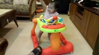 Creative Baby 學步車 高雄小公主高興學走路