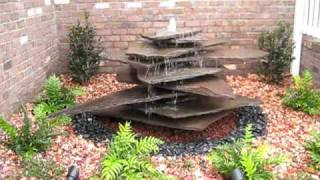 Custom Water Feature by Creative Cascades
