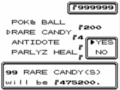 Pokemon Crystal - GameShark Codes