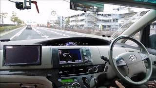 Autoware self-driving vehicle on a highway