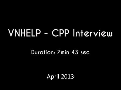 Vietnam Health, Education, & Literature Projects (VNHELP) Interview