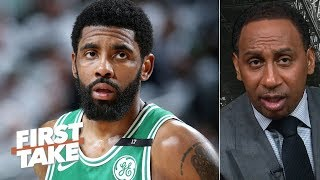 Celtics have to rely on Kyrie Irving and he will respond to Bucks - Stephen A. | First Take