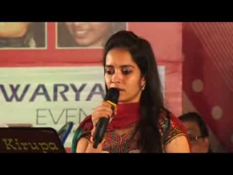 Thedum Kann By Ananthu & Deepashika In Ganesh Kirupa Best Light Music Orchestra In Chennai video