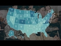 Animated map shows the most and least educated US states