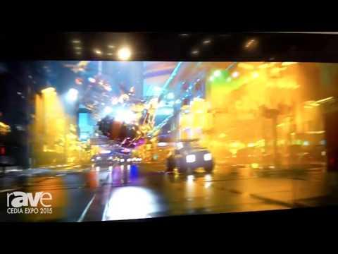 CEDIA 2015: VIZIO Demos Its 120-Inch LED Backlit TV With Dolby Vision High Dynamic Range