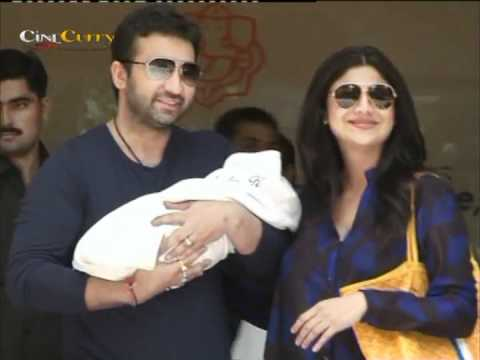Shilpa Shetty Discharged From Hospital With Her Baby Boy