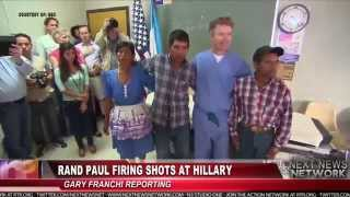 Rand Paul calls Hillary Clinton a War Hawk