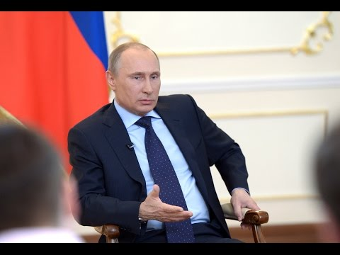 Putin says Russia's actions in Crimea prevented conflict