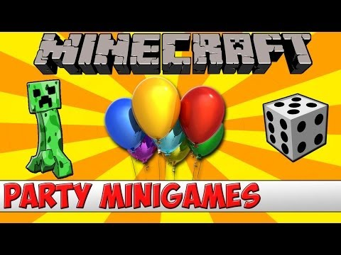 Minecraft Bukkit Plugin - Minigames Party - Tutorial (Updated)