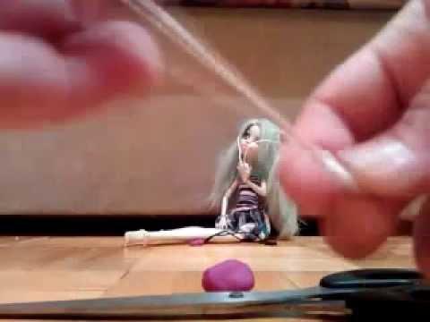 Как для куклы сделать наушники 677