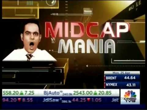 CNBC NSE Closing Bell, 25 April 2016 - Mr. Mayuresh Joshi,  Angel Broking