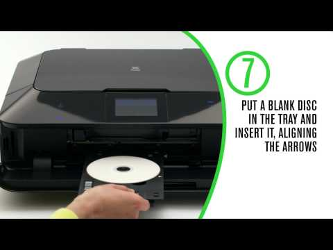 Canon: How To Print Directly onto a CD/DVD from my PC