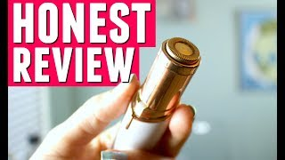 FINISHING TOUCH FLAWLESS FACIAL HAIR REMOVER | Honest Review | HEYKACKIE