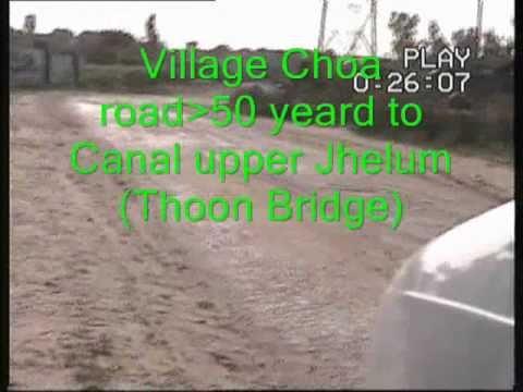 Tehsil Sarai alamgir Choa Dinga Road 3 meet canal Jhelum Pakistan