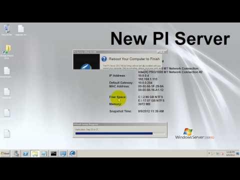 OSIsoft: Upgrade to PI Server 2012: Full Walk-through