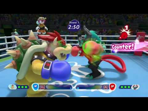 Mario & Sonic at the Rio 2016 Olympic Games Wii U footage