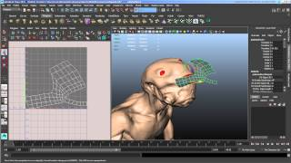 Smoothing Polygons and Transferring Maps in Maya