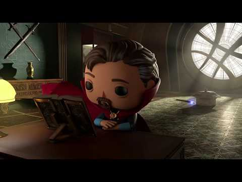 Loki's Strange Caper!   Marvel Funko Presents  Time to Unwind   Featuring Dr  Strange & Loki   SHORT