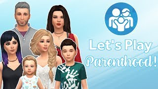 CITY OUTING || The Sims 4 || Parenthood - Part 9