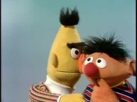 Muppets - Bert Ernie 1