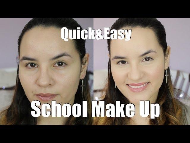 Maquillaje para ir a clase, fácil y rápido | Lorituela