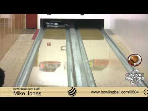 Ebonite Game Changer Bowling Ball Reaction Video by bowlingball.com
