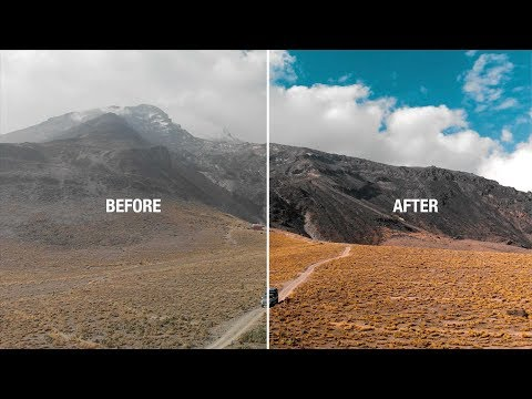 Make Your MAVIC AIR footage LOOK CINEMATIC FAST!