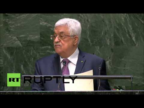 USA: Abbas warns UNGA