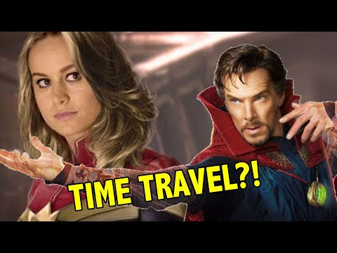 Avengers 4 Theory: Did Doctor Strange Time Travel To Captain Marvel?