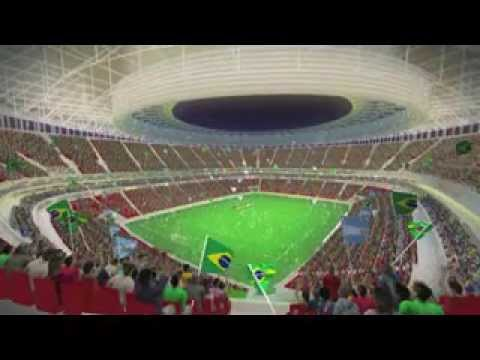 National Mané Garrincha Stadium - Brasilia - Electronic mock-up