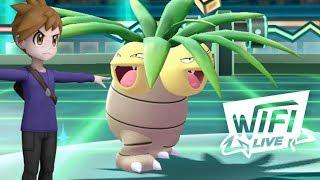 Pokemon Let's Go Pikachu & Eevee Wi-Fi Battle: Blue's Viridian City Gym Team! (1080p)