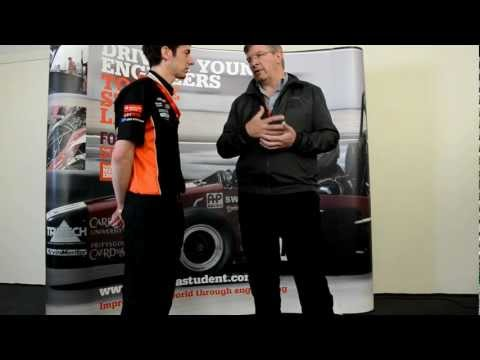 Russell Paddon's interview of Ross Brawn at Formula Student UK 2012