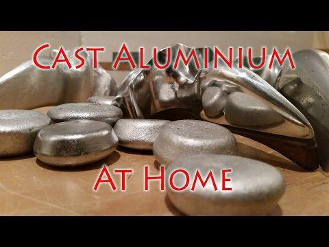 How to Cast Aluminium Ingots at Home