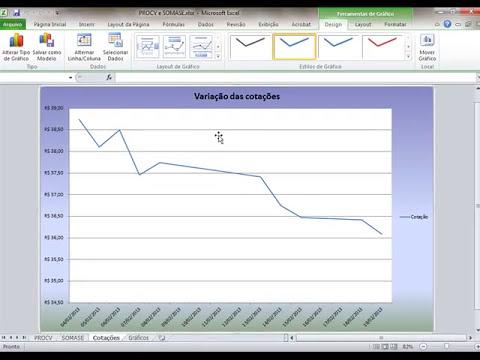 6 - Como criar Gráficos no Excel 2010 - Básico