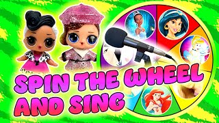LOL Surprise Dolls Disney Princess Spin the Wheel Singing Competition Episode 2 | LOL Dolls Families