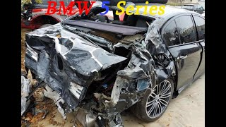 BMW 5 Series Full Rebuild Salvage Rebuild
