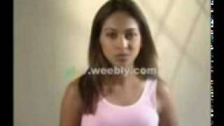 hot sri lanka model actress girl nehara chaturika test video
