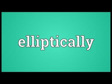 Header of elliptically